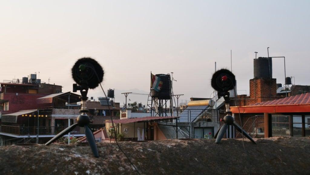 Field Recording nepal himalaya David kamp studiokamp city waking up