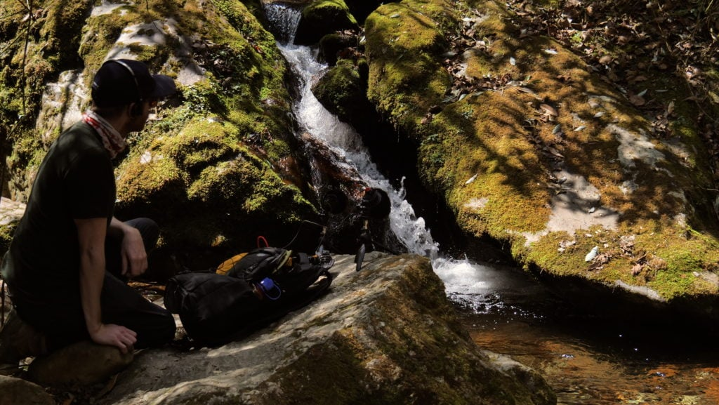 Field Recording nepal himalaya David kamp studiokamp forest lake recording
