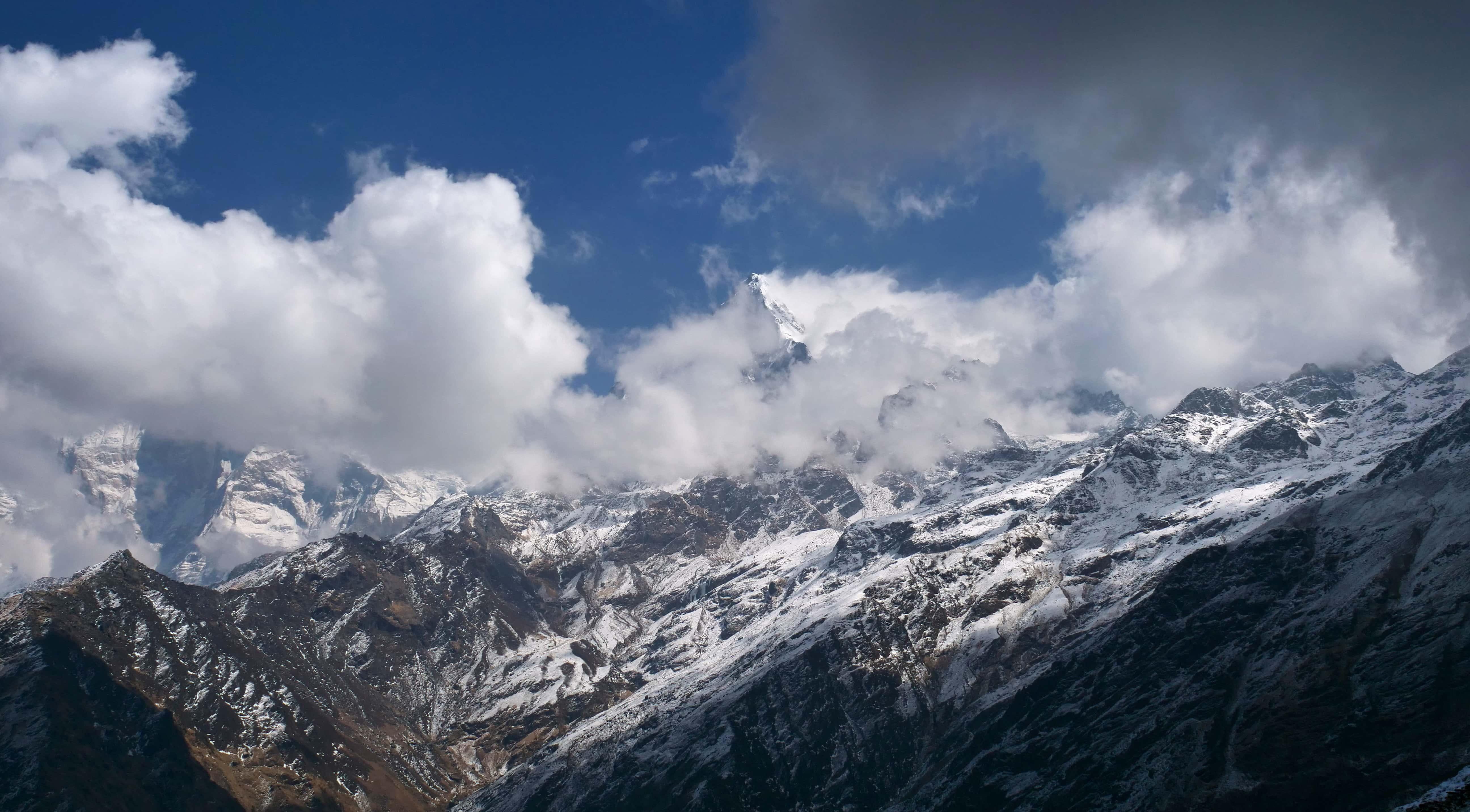Field Recording nepal himalaya David kamp studiokamp mountain ridge
