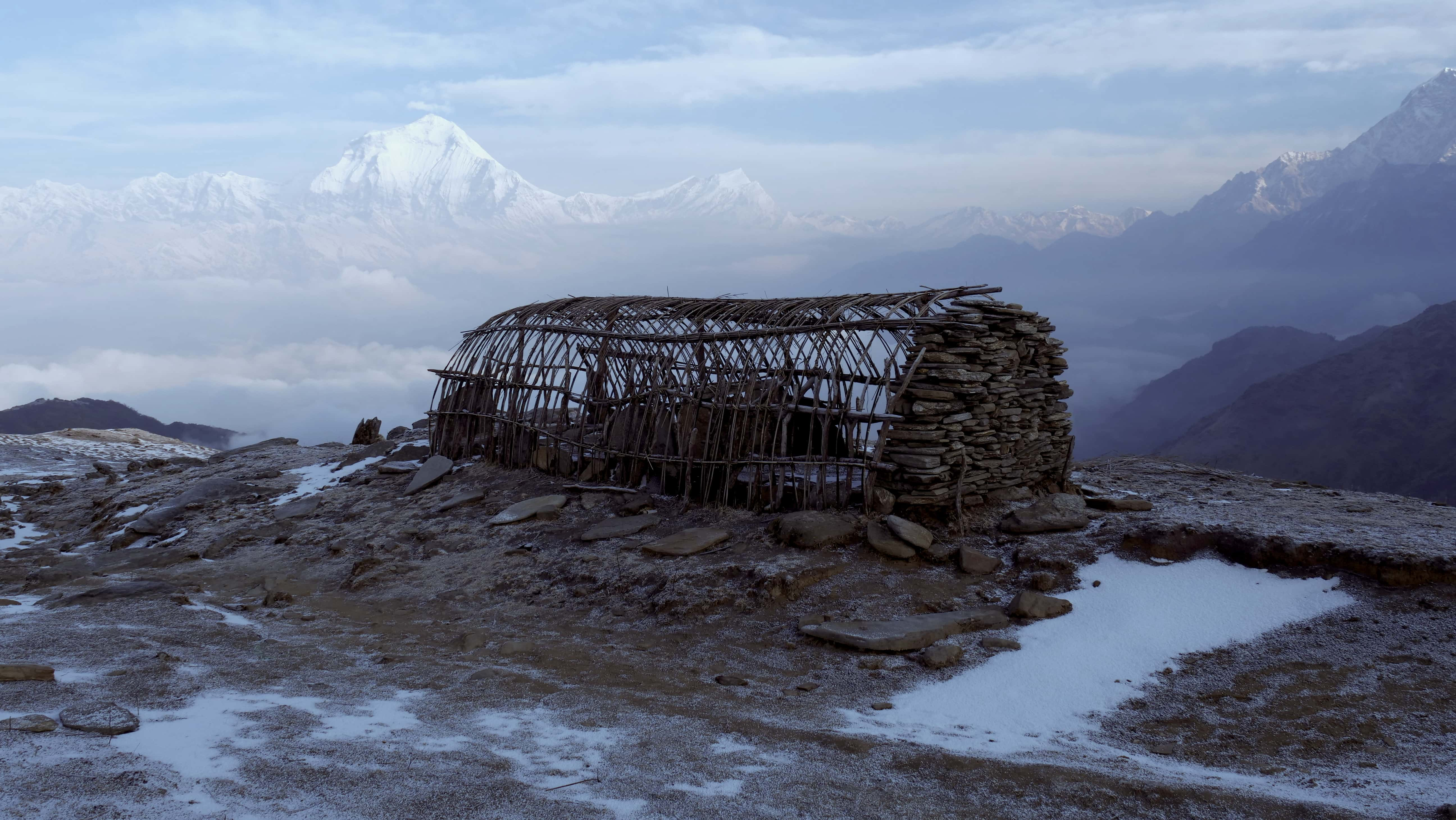 Field Recording nepal himalaya David kamp studiokamp mountaintop m b
